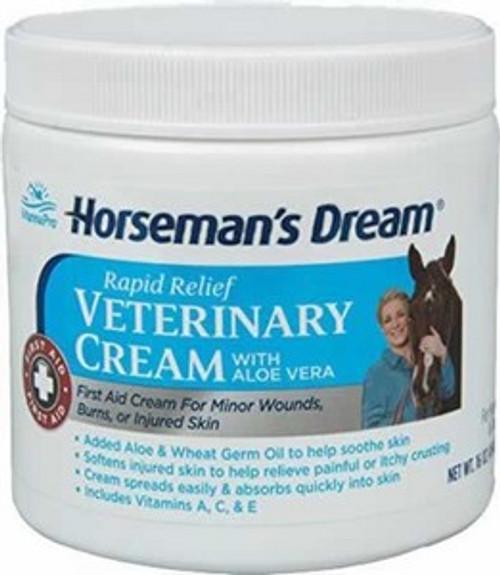 Horsemans Dream Vet Cream 16 Ounce Jar