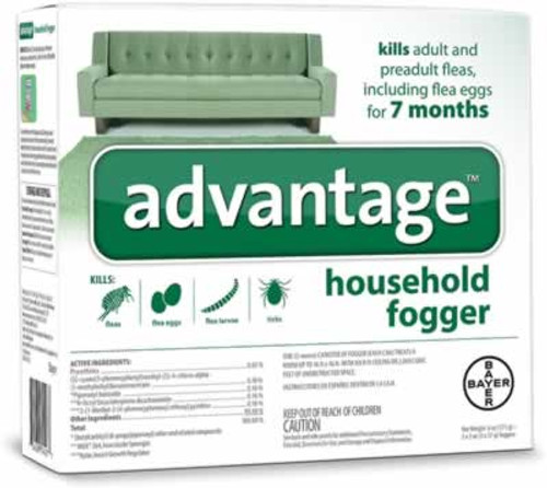 Advantage Household Fogger 3 Pack