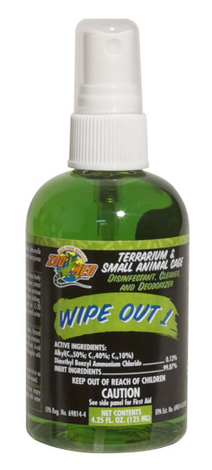 Zoo Med Wipe Out 1, 4.25 Ounce