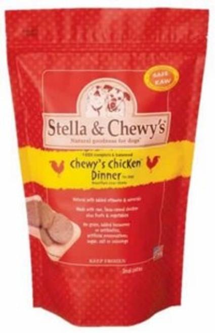 Stella & Chewys Chicken Frozen Dinner, 6 Pounds