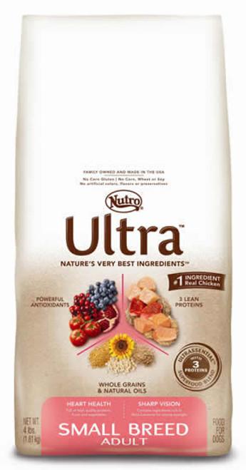 Nutro Ultra Small Breed Dog Food, 4 Lb.
