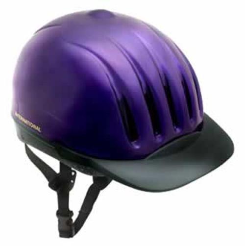 Equi-Lite DFS Helmet Purple Medium