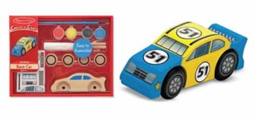 Melissa & Doug Decorate-Your-Own Race Car