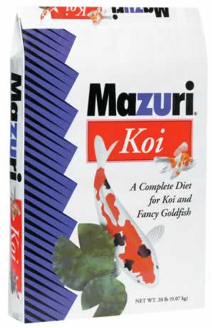 Mazuri Koi Platinum Floating Bits 20 Pounds