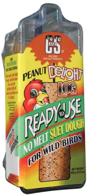 C&S Ready To Use Peanut Delight Log, 16 Ounce