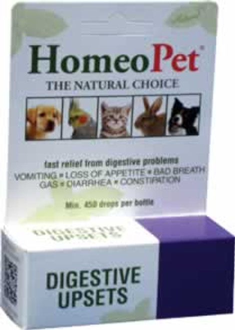 HomeoPet Digestive Upsets Natural Relief for Pets