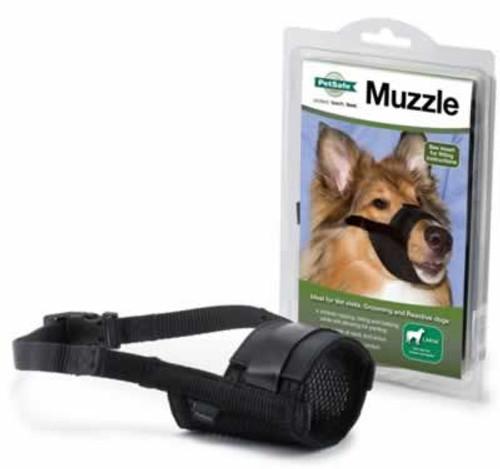 PetSafe Adjustable Black Dog Muzzle