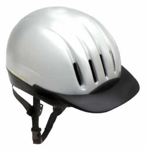 Equi-Lite DFS Helmet Silver Large