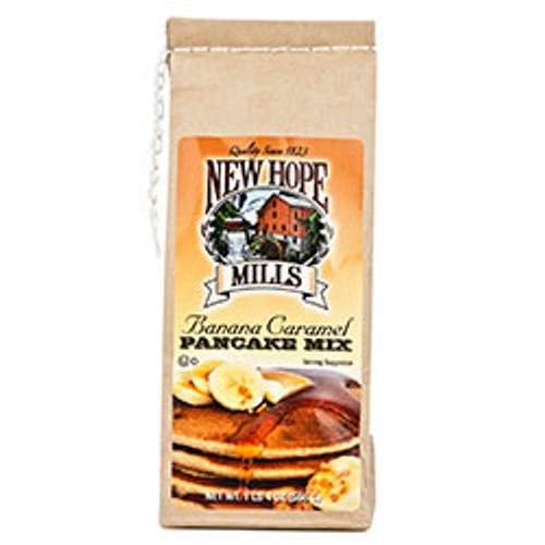 New Hope Mills Banana Caramel Pancake Mix 20 Ounces