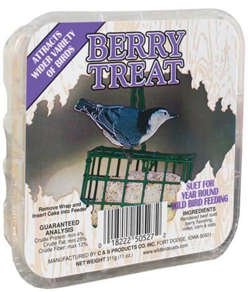 Berry Treat Wild Bird Suet Cake