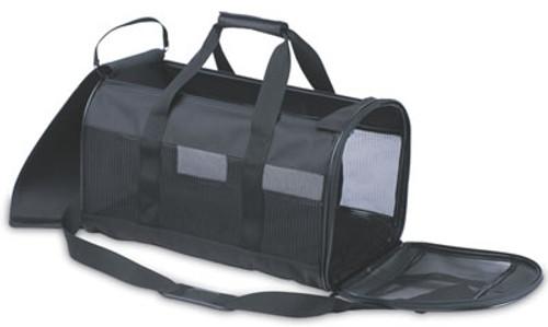 Soft Side Kennel Cab Medium Black 17 x 10 x 10