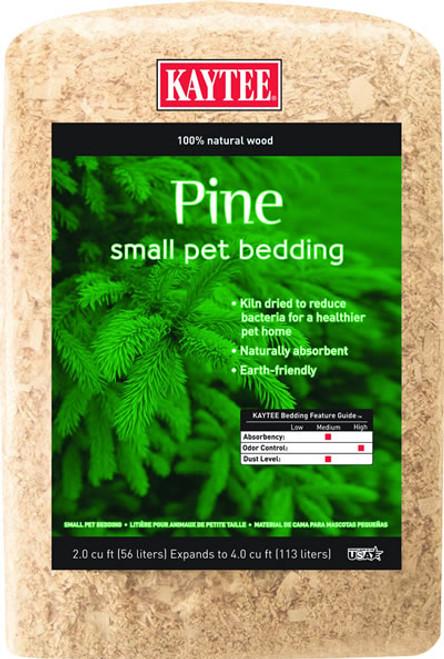 Kaytee Pine Bedding, 4 Cubic Feet
