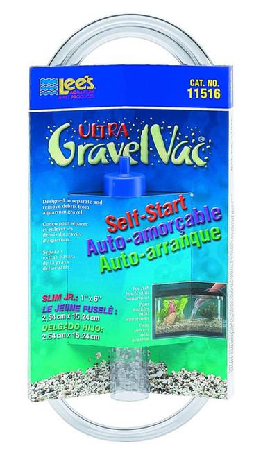 "Ultra GravelVac 6"" Slim Jr., Self-Start"