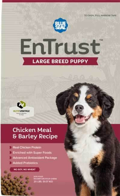 Blue Seal EnTrust Large Breed Puppy Chicken Meal & Barley