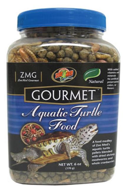 Zoo Med Gourmet Aquatic Turtle Food, 6 Oz.