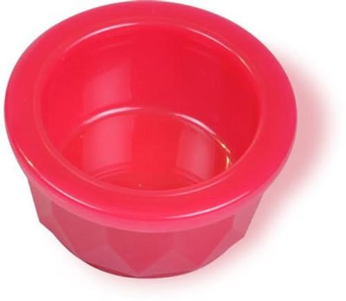 Crockstyle Translucent Heavyweight Dog Food/Water Dish, Extra Small