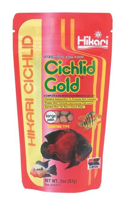 Hikari Cichlid Gold Large, 2 Ounce