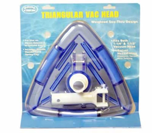 Triangle  Pool Vacuum  Head