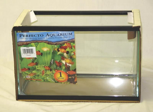 Black Aquarium Tank, 5 1/2 Gallon