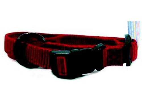 Hamilton Red Nylon Adjustable Collar 5/8 x 12-18 Inch