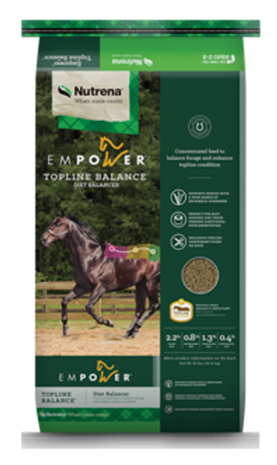 Nutrena Empower Topline Balance Horse Supplement, 40 Lb.