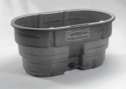 Rubbermaid Stock Tank, 100 Gallon