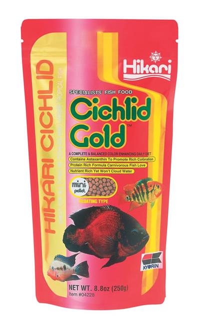 Hikari Cichlid Gold Mini, 8 Ounce
