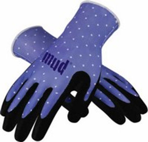 Mud Polka Grip Wisteria Gardening Gloves