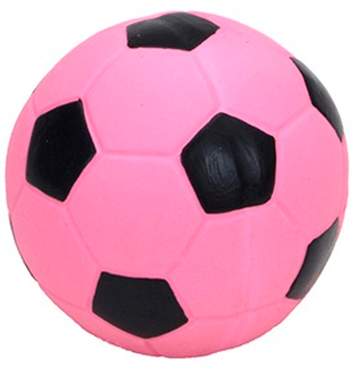Coastal Rascals Latex Soccer Ball Dog Toy, 3 Inches