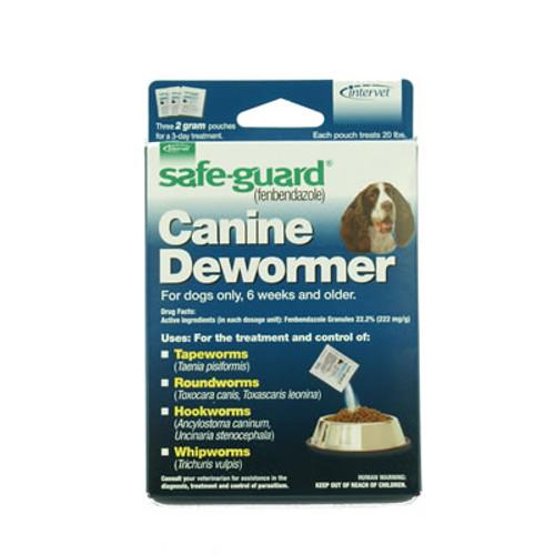 Safe-guard Dog Wormer 20 lbs.