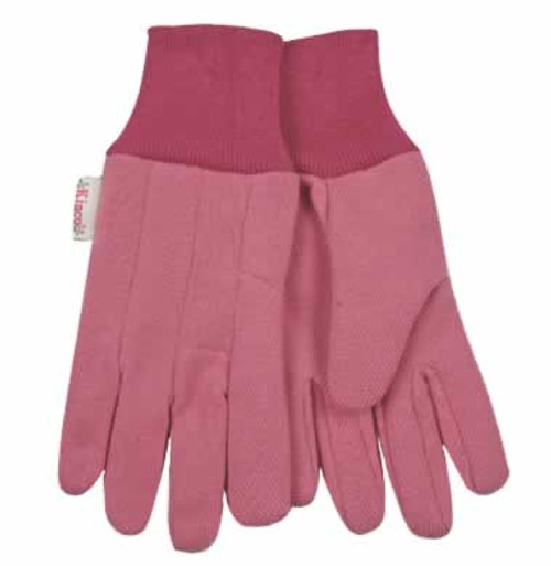 Kinco Women's Jersey Gloves with PVC Dots
