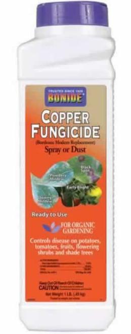 Bonide Copper Fungicide Dust Or Spray 1 Pound