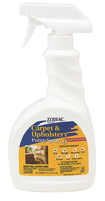 Zodiac Carpet & Upholstery Spray, 24 Ounce