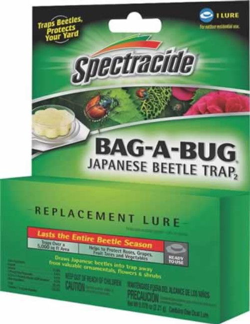 Spectracide Bag-A-Bug Japanese Beetle Killer Replacement Lure