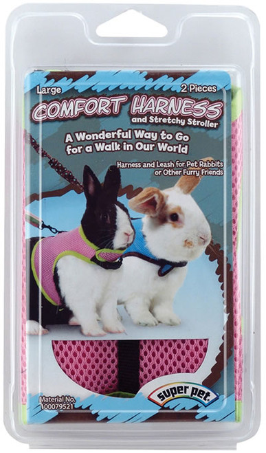 Comfort Harness With Stretch Leash, Large