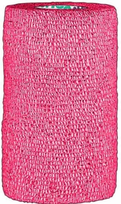 ASI Wrap-It-Up Cohesive Flex Bandage, Hot Pink