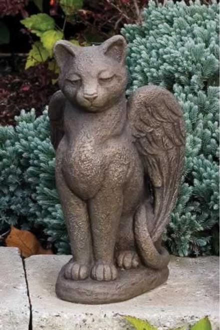 Massarelli My Guardian Cat Lawn Statue