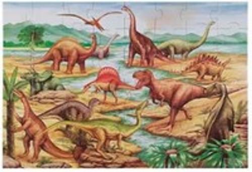 Melissa & Doug Dinosaurs Floor Puzzle 48 Pieces