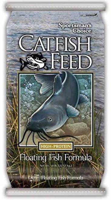 Sportman's Choice Big Strike Catfish Food Floating Fish Food 40 Pounds