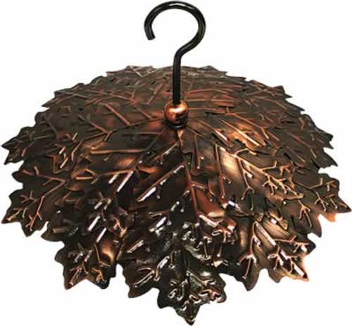 Heath Copper Leaf Bird Feeder Rain Guard