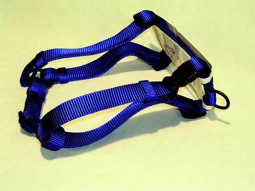 Hamilton Large Adjustable Nylon Comfort Harness, Blue