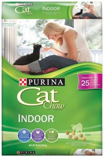 Purina Cat Chow Indoor Cat Food 16 Pounds