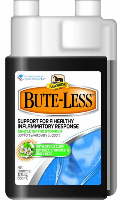 Absorbine Bute-Less Liquid Solution Bottle