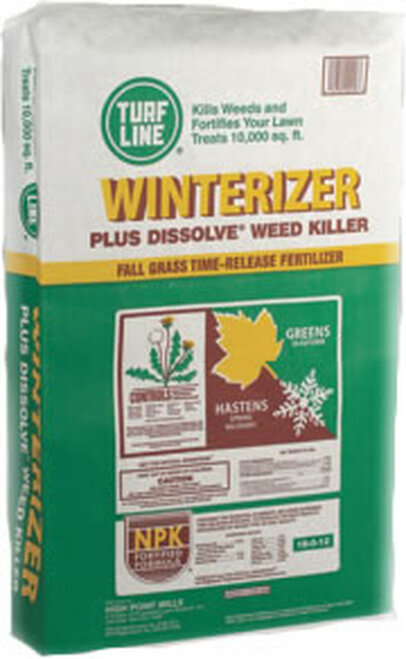 Turf Line Winterizer Plus Dissolve Weed Killer 10,000 Square Feet