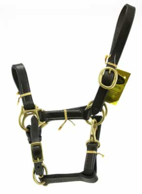 Gatsby Stable Halter With Snap, Suckling