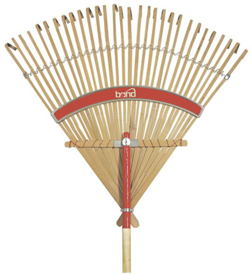 Bond Manufacturing Deluxe Bamboo Rake 30 Inches
