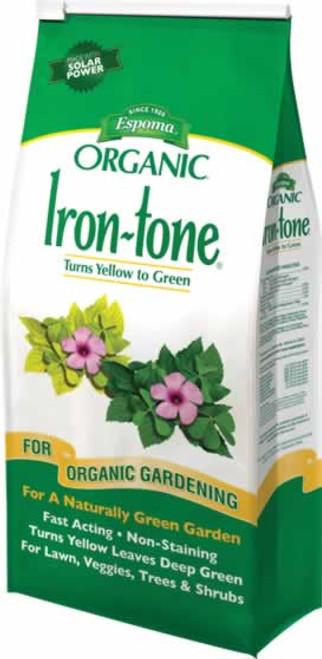 Espoma Organic Iron Tone 2-0-3 Fertilizer 5 Pounds