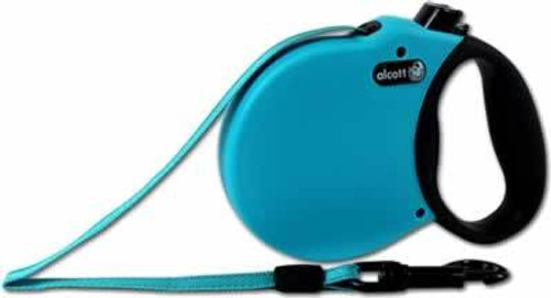 Alcott Retractable Blue Dog Leash