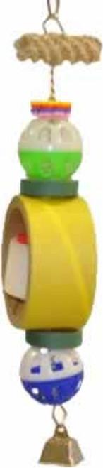 A&E Happy Beaks Tape Dispenser Bird Toy
