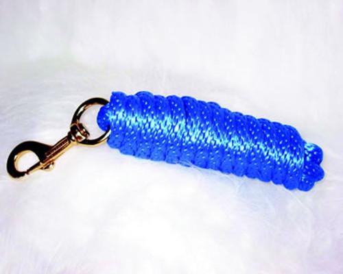 Nylon Horse Lead Blue